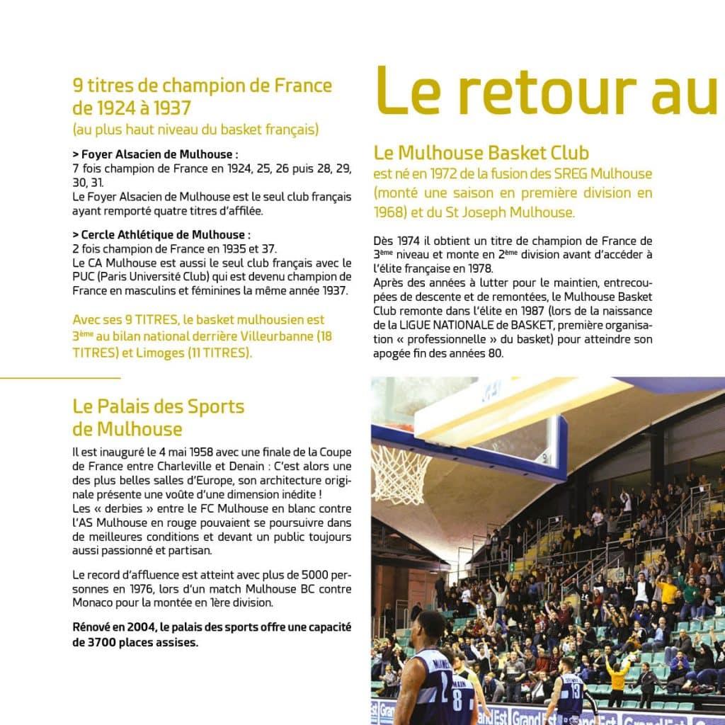 Histoire du MBA Mulhouse Basket Agglomération Partie 1