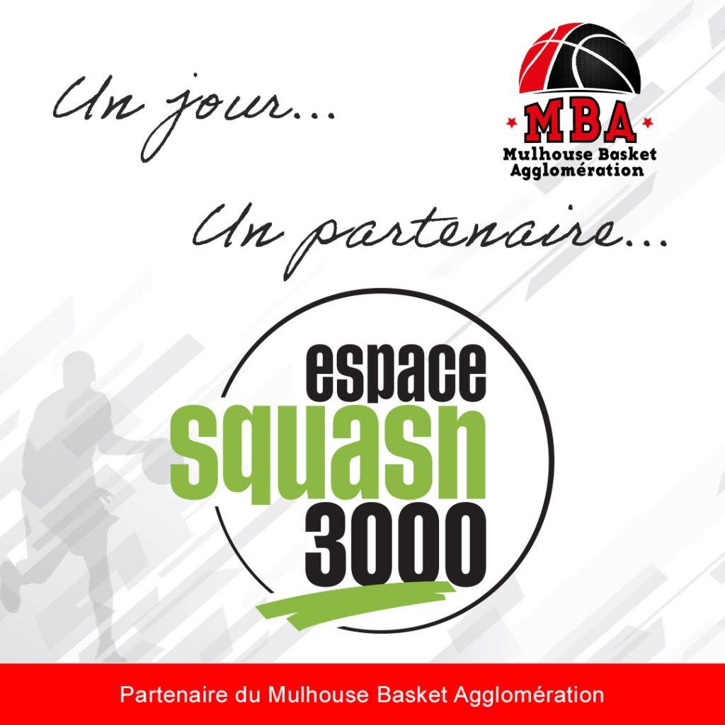 Un jour, Un partenaire Squash 3000